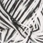 """Пряжа """"Adelia Zena"""" 100% акрил 308м/100гр (79 белый,серый,черный)"""