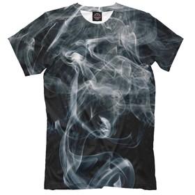 Футболка мужская «Абстракция в дыму», размер XXL