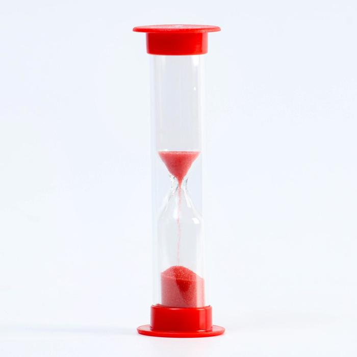 Песочные часы, на 1 минуту, 9 х 2.5 см, микс