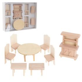 Набор мебели для кукол, МИКС 4 вида