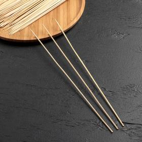 Набор шампуров деревянных 30 см, d=3 мм, 85-90 шт