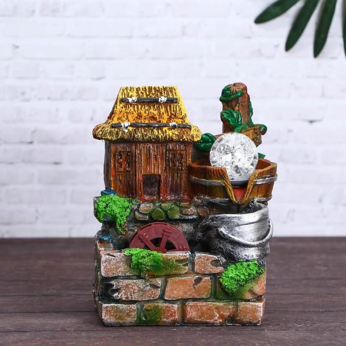 Фонтан Дом с соломенной крышей 1419 см, мод 1124