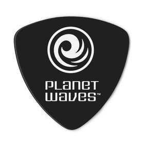Медиаторы Planet Waves 2CBK7-10 Black Celluloid целлулоид, черные, 10шт, широкие