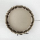Форма для выпечки разъёмная «Рэнди. Круг», 12×7,5 см, антипригарное покрытие, цвет бронзовый - Фото 2
