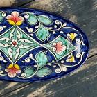 Селедочница Риштанская Керамика 24см микс - Фото 12