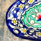 Селедочница Риштанская Керамика 24см микс - Фото 3