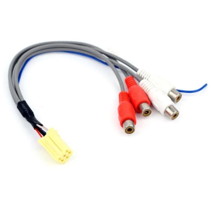 ISO-переходник ACV AD12-1621 для подключения к MMC усилителя и сабвуфера