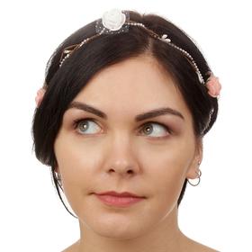Декор для волос, вплетаемый «Розы мечты» Ош