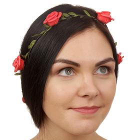 Декор для волос, вплетаемый «Розы»