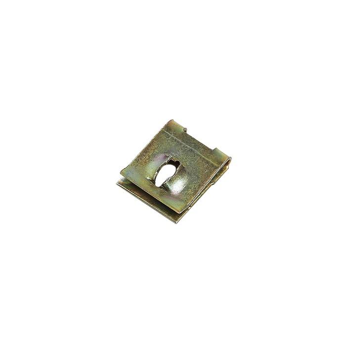 Клипса-фиксатор металлическая М5, универсальная, КП-0153