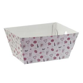 Складная коробка–трапеция «Девичьи фантазии», 27 × 19.5 × 13 см