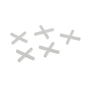"""Крестики для кладки плитки """"СИБРТЕХ"""", 2.0 мм, в упаковке 100 штук"""