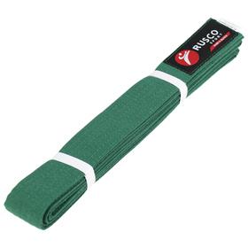 Пояс для карате 2.6 м RUSCO SPORT зелёный Ош