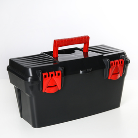 Ящик для инструментов 41,5×21×21 см, цвет МИКС