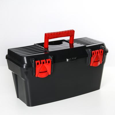 Ящик для инструментов 41,5×21×21 см, цвет МИКС - Фото 1