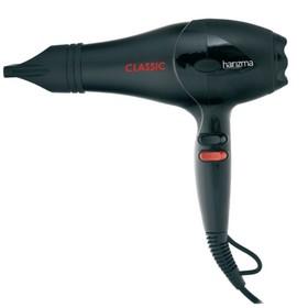 Фен Harizma h10206 CLASSIC, 2000 Вт, 2 скорости, 3 температурных режима, черный