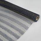 Сетка натуральная, BOZA металлизированная, индиго, 0,53 x 4,57 м