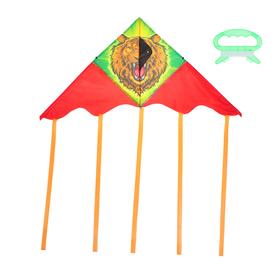 Воздушный змей «Лев», с леской Ош