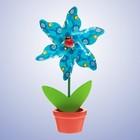 Ветерок «Цветок», в горшочке, цвета МИКС