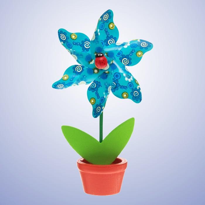 Ветерок Цветок, в горшочке, цвета МИКС