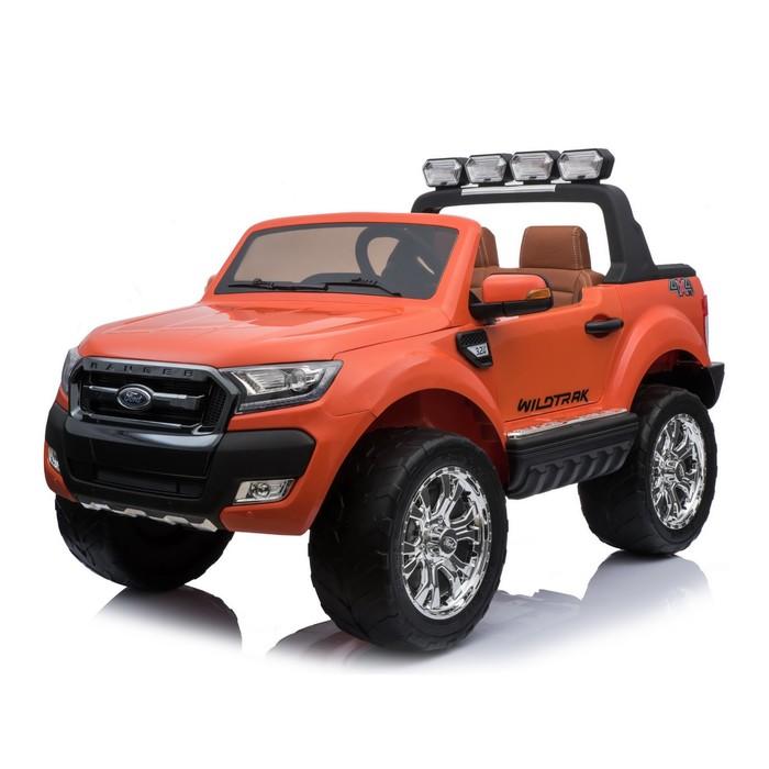 """Электромобиль """"FORD RANGER NEW"""", 4WD полный привод, цвет оранжевый глянец"""