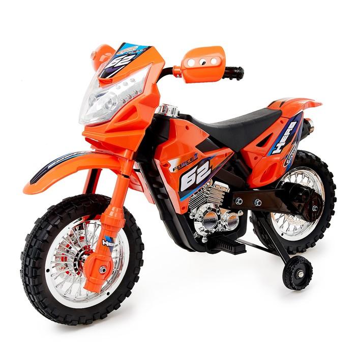 """Электромотоцикл """"Кросс"""", активная ручка газа"""