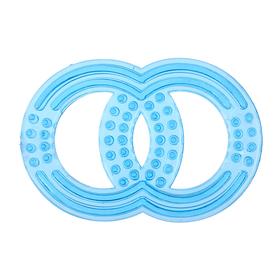 Прорезыватель силиконовый «Восьмёрка», цвет МИКС