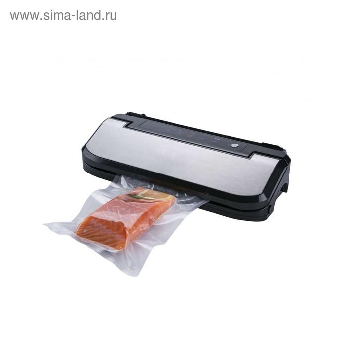 Вакуумный упаковщик Gemlux GL-VS-169S, 150 Вт, серебристо-чёрный
