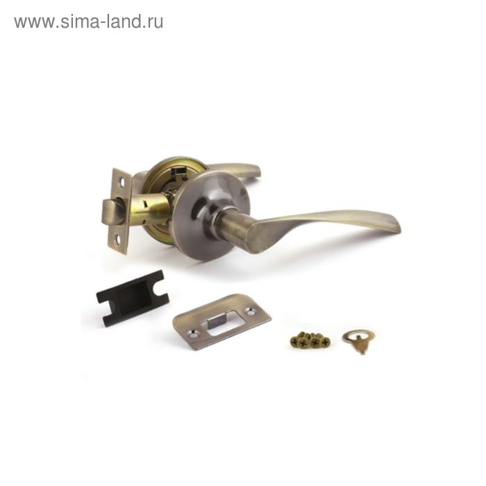 Ручка-защёлка AVERS 8023-05-AB, пустая, цвет бронза