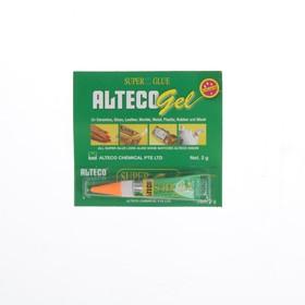 Клей супер-гель Alteco, 3 г Ош