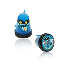 Лизун Slime Ninja, светится в темноте, синий, 130 г