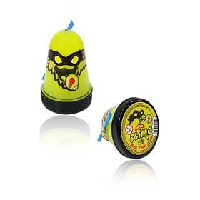 Лизун Slime Ninja, светится в темноте, жёлтый, 130 г