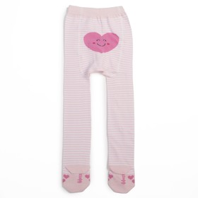 Колготки для девочки КДД1-3086, цвет светло-розовый, рост 80-86 см