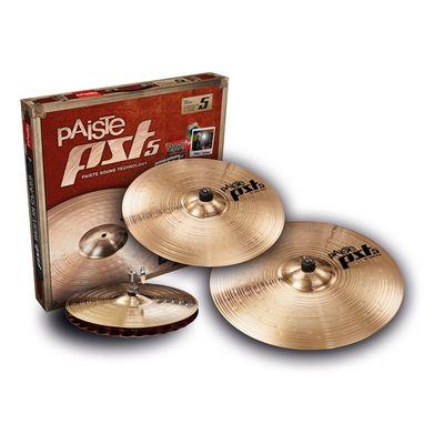 """Комплект тарелок Paiste 000068RSET New PST 5 Rock Set  14""""/16""""/20"""""""