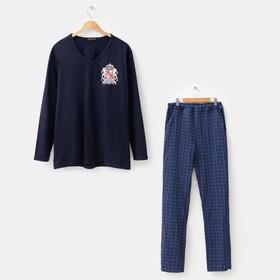 Комплект мужской (джемпер, брюки) «Оскар», цвет МИКС, размер 48