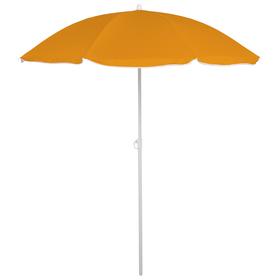 Зонт пляжный «Классика», d=160 cм, h=170 см, цвета МИКС Ош