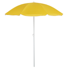 Зонт пляжный «Классика» с серебряным покрытием, d=160 cм, h=170 см, МИКС