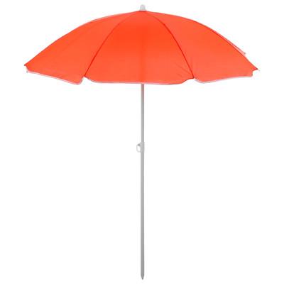 Зонт пляжный «Классика», d=150 cм, h=170 см, МИКС - Фото 1