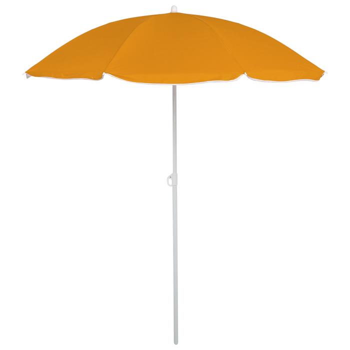 Зонт пляжный «Классика» с механизмом наклона, d=180 cм, h=195 см, цвета микс
