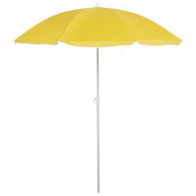 Зонт пляжный «Классика» с механизмом наклона, d=210 cм, h=200 см, МИКС Ош