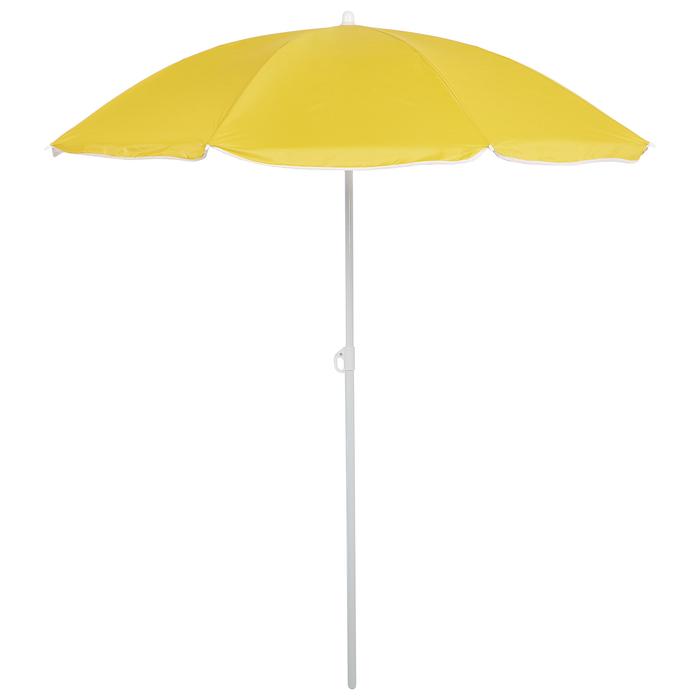 Зонт пляжный «Классика» с механизмом наклона, d=210 cм, h=200 см, МИКС