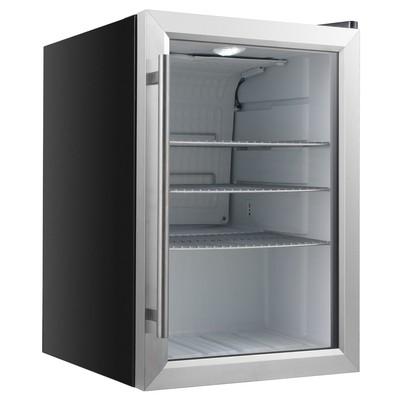 Холодильный шкаф Gastrorag BC-62, витринного типа, 62 л, +1 до +10 °С, белый