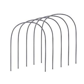 Комплект дуг для парника, полиэтилен 2 м, d = 20 мм, набор 5 шт. Ош