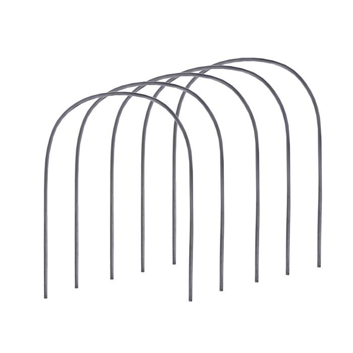 Дуги для парника, полиэтилен 2 м, d = 20 мм, набор 5 шт.