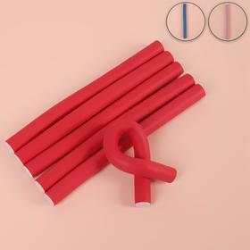 Бигуди «Бумеранг», d = 1,5 см, 18 см, 6 шт, цвет МИКС Ош