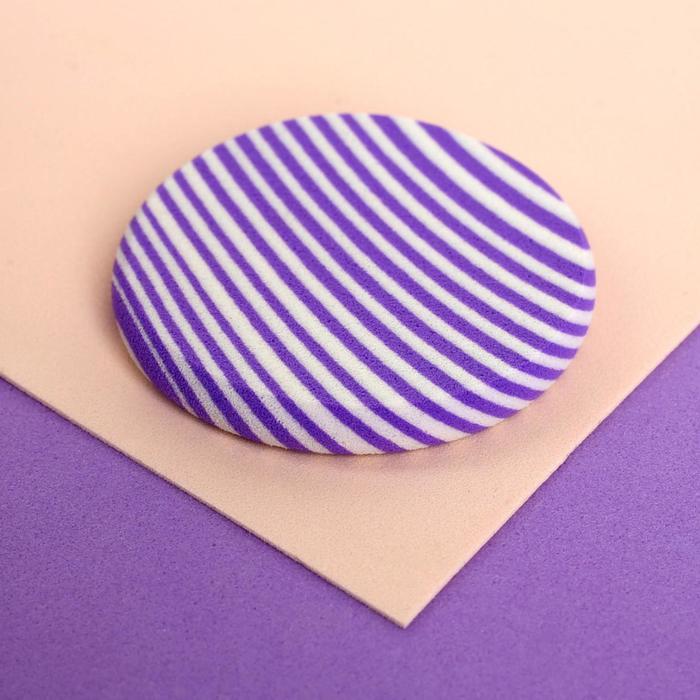 Спонж для нанесения косметики, d 5 см, цвет МИКС