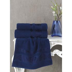 Полотенце Rebeka, размер 50 × 90 см, цвет синий