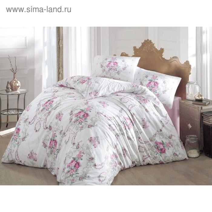 КПБ Admire евро, 240х260 см, 200х220 см, 50х70 см-2 шт.. цвет розовый, ранфорс 115 г/м2 297   314683