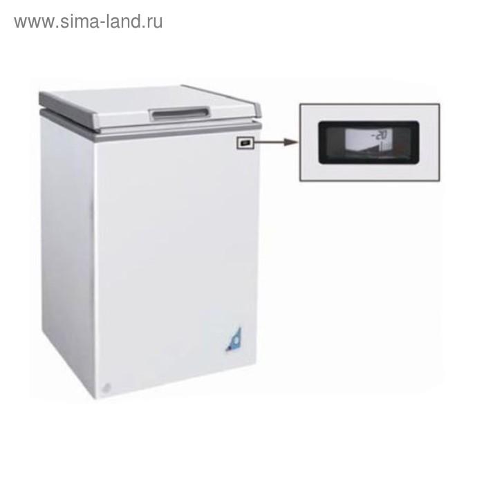 Морозильный ларь GASTRORAG F100, 110 Вт, 95 л, -18 до -25°С, откидная глухая крышка, белый