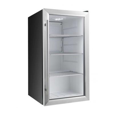 Холодильный шкаф GASTRORAG BC-88, 88 л, +1 до +10°С, подсветка, э/м термостат, чёрный